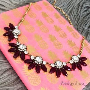 [j.crew] divided flower necklace